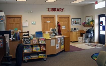 Library_north_Wall